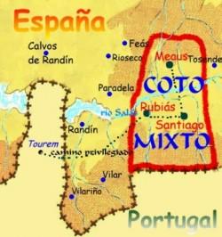 mapa do couto mixto