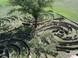 labirinto do pazo de Tor