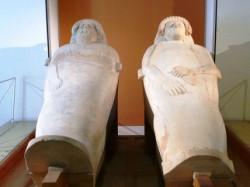 Museo de Cádiz. Sarcógafos fenicios