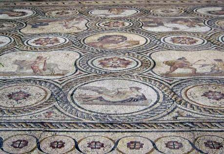 Palacio de Lebrija. Mosaico