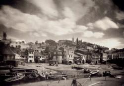 Ksado. Vista de Betanzos (c.1920)