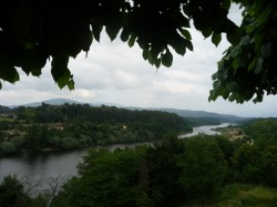 Monçao. O río Minho