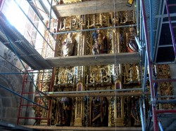 Betanzos. Igrexa de Santiago. Capela de D. Pedro de Ben.