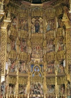 Catedral de Ourense. Retablo maior.