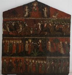 Museo de Pontevedra. Retablo gótico de Belvís
