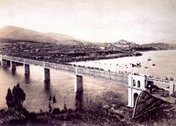 Anónimo. Inauguración da ponte internacional