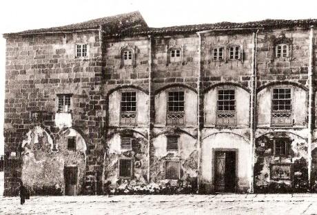Blanco. Vista da fachada do Parrote en 1928