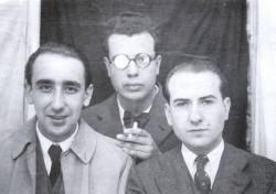 Cunqueiro, Fernández del Riego e Carballo Calero