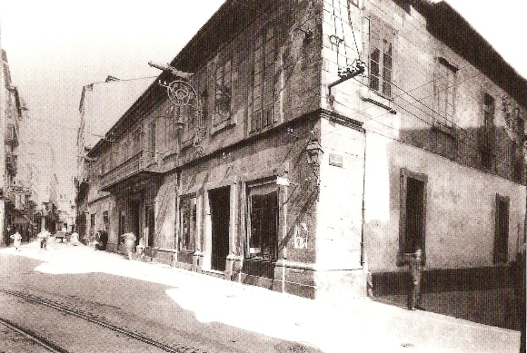Edificio da Cooperativa Cívico-Militar no ano 1945