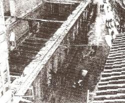Demolición do edificio no ano 1959