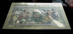Museo de Palencia. Mosaico de Océano e as Nereidas