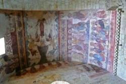 San Martiño de Mondoñedo. Pinturas murais