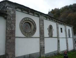 Mosteiro de Penamaior. Muro norte