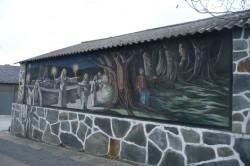 Monseiro. Pintura de Fermín Díaz
