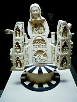 Convento de Santa Clara. Virxe abrideira