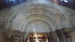 Tímpano da igrexa de Novelúa