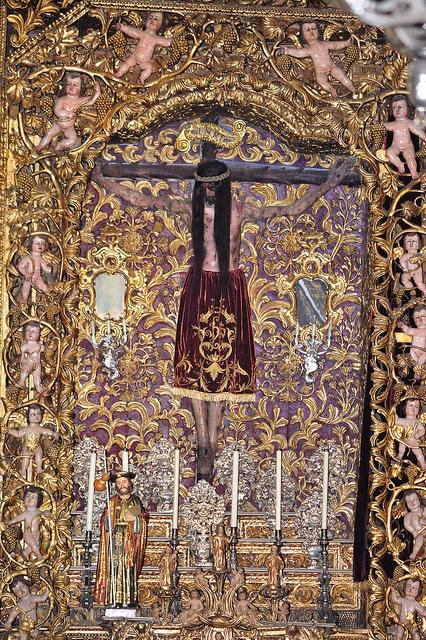 Santo Cristo da catedral de Ourense