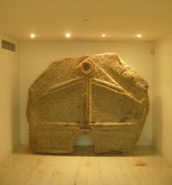 Briteiros. Pedra formosa no Museo da Cultura Castreja