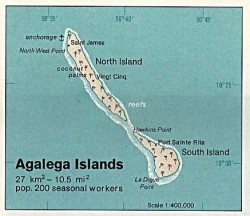 Agalega islands