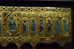 Museo de Burgos. Pormenor do frontal de Santo Domingo de Silos