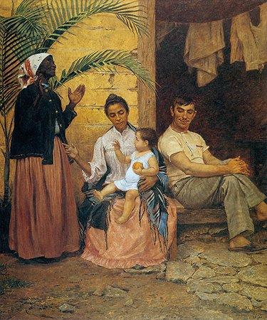 Modesto Brocos. Redençao de Cam (Museu de Belas Artes de Rio de Janeiro)