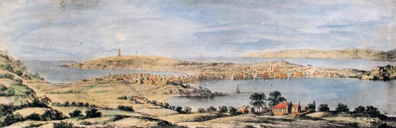 Vista da Coruña