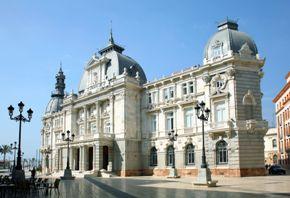 Cartagena. Edificio do concello