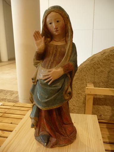 Virxe da O na exposición Gallaecia Petrea