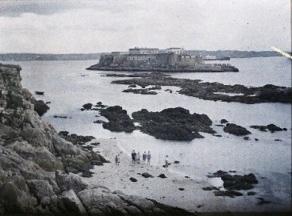 George Chevalier. Castelo de San Antón. A Coruña (1917)