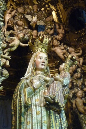 Lugo. Catedral. Virxe dos Ollos Grandes