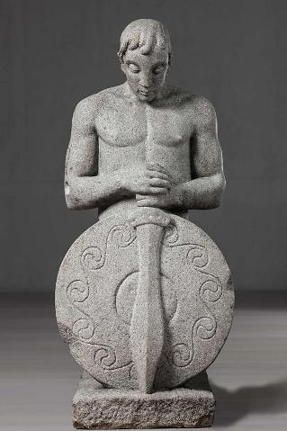 Narciso Pérez. Guerreiro celta