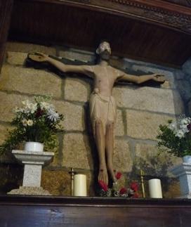 Cristo románico de San Salvador dos Penedos