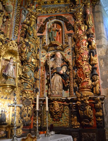 San Pablo no retablo de San Salvador de Redemuiños