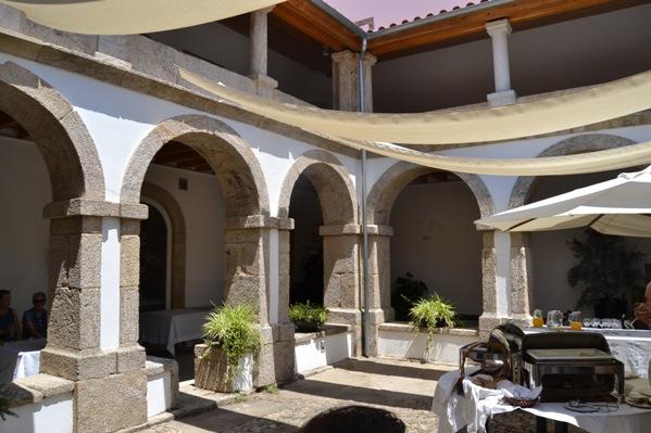Monçao. Claustro do Convento dos Capuchos