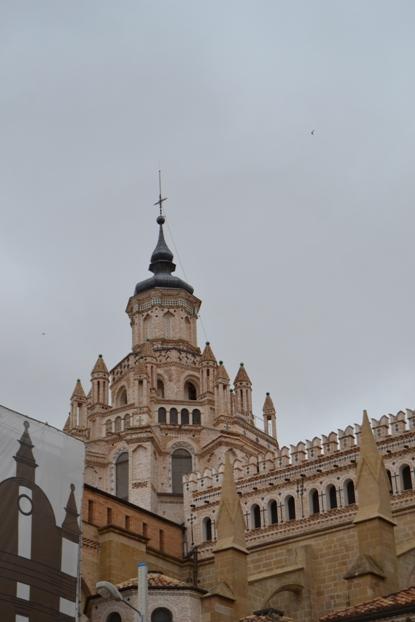 Tarazona. Cimborrio da catedral