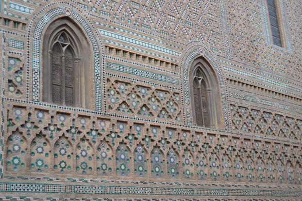 Zaragoza. La Seo. Muro gótico-mudéxar
