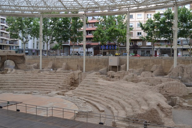 Zaragoza. Teatro romano