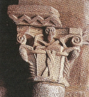 Capitel de igrexa de San Cibrao de Nocedo