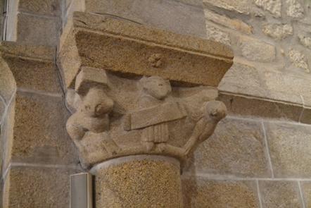 Capitel de Santa María de Frades