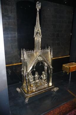 Pamplona. Catedral. Relicario do Santo Sepulcro