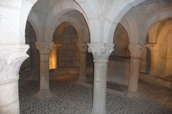 Cripta da igrexa de San Martín de Unx