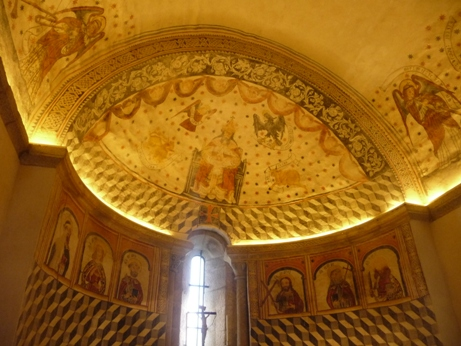 Pinturas murais da igrexa de Santa María de Melide