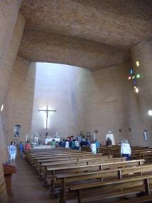 Alcalá de Henares. Interior da igrexa de San Juan de Ávila