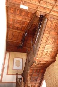 Escaleira do castelo de Belmonte