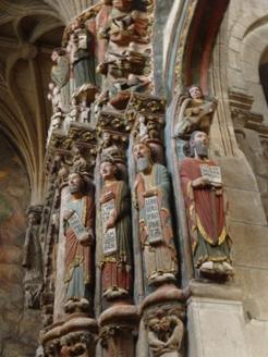 Ourense. Catedral. Pórtico do Paraíso