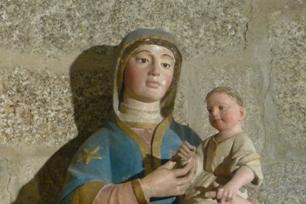 Sao Pedro de Cete. Virxe co Neno