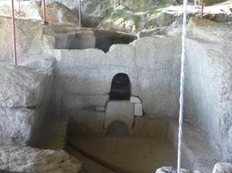 Sauna castrexa no xacemento de Freixo-Tongóbriga